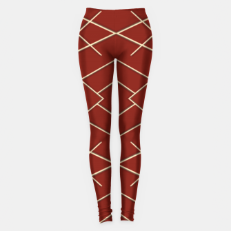 Geometric shapes  Leggings Bild der Miniatur