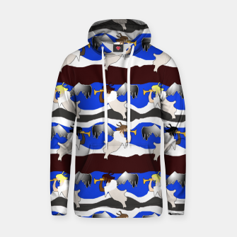 Thumbnail image of Angels Pattern Hoodie, Live Heroes