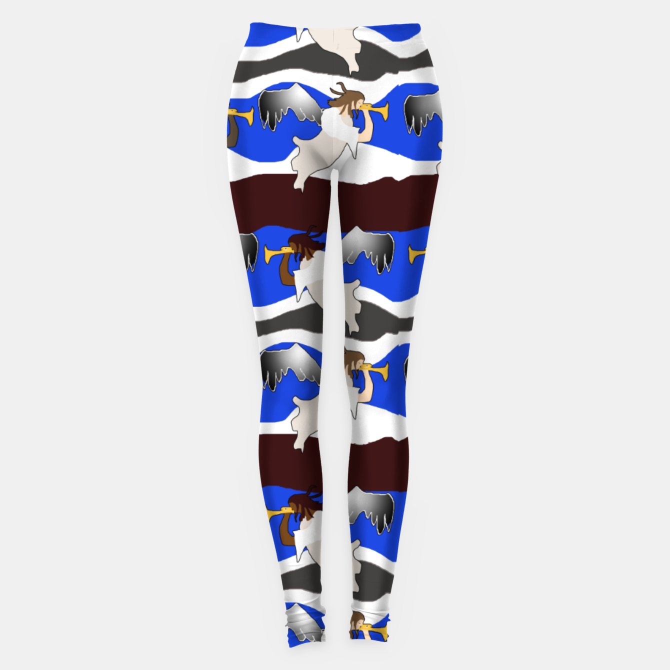 Image of Angels Pattern Leggings - Live Heroes