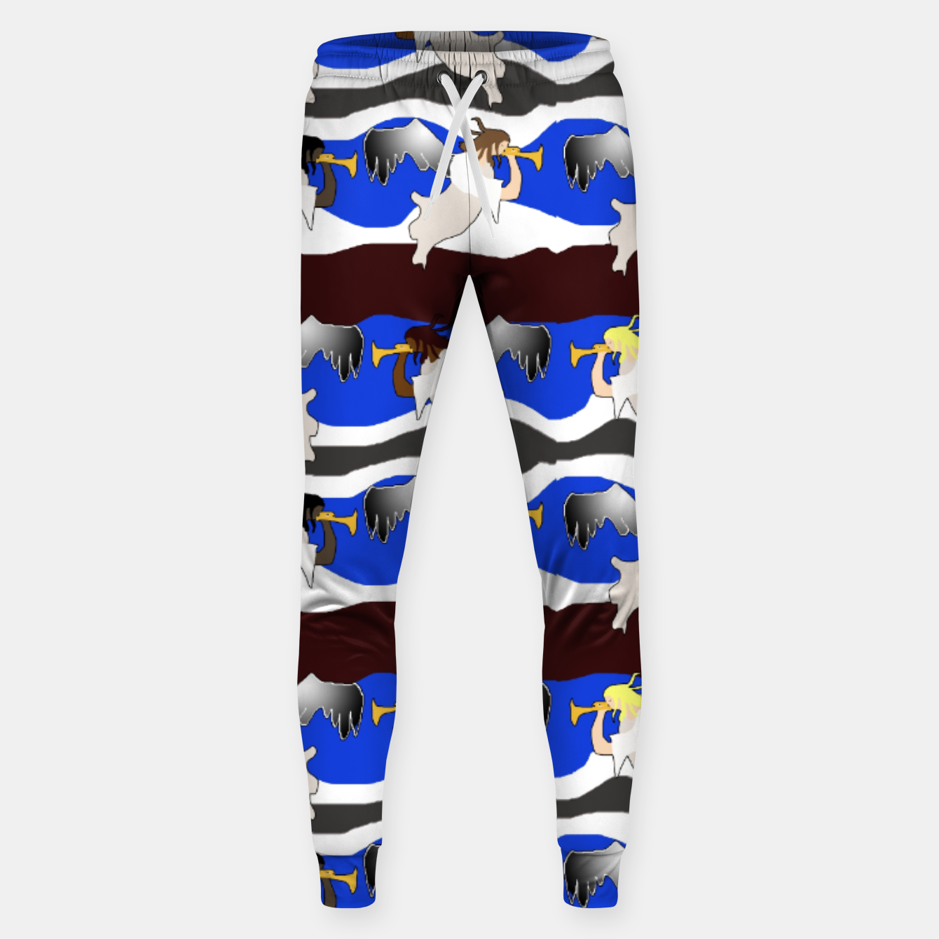 Image of Angels Pattern Sweatpants - Live Heroes