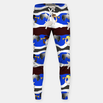 Angels Pattern Sweatpants thumbnail image