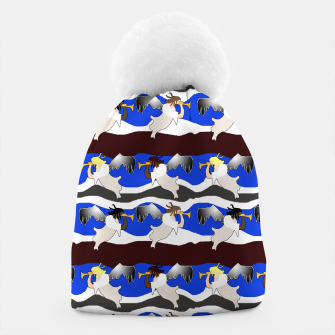 Thumbnail image of Angels Pattern Beanie, Live Heroes