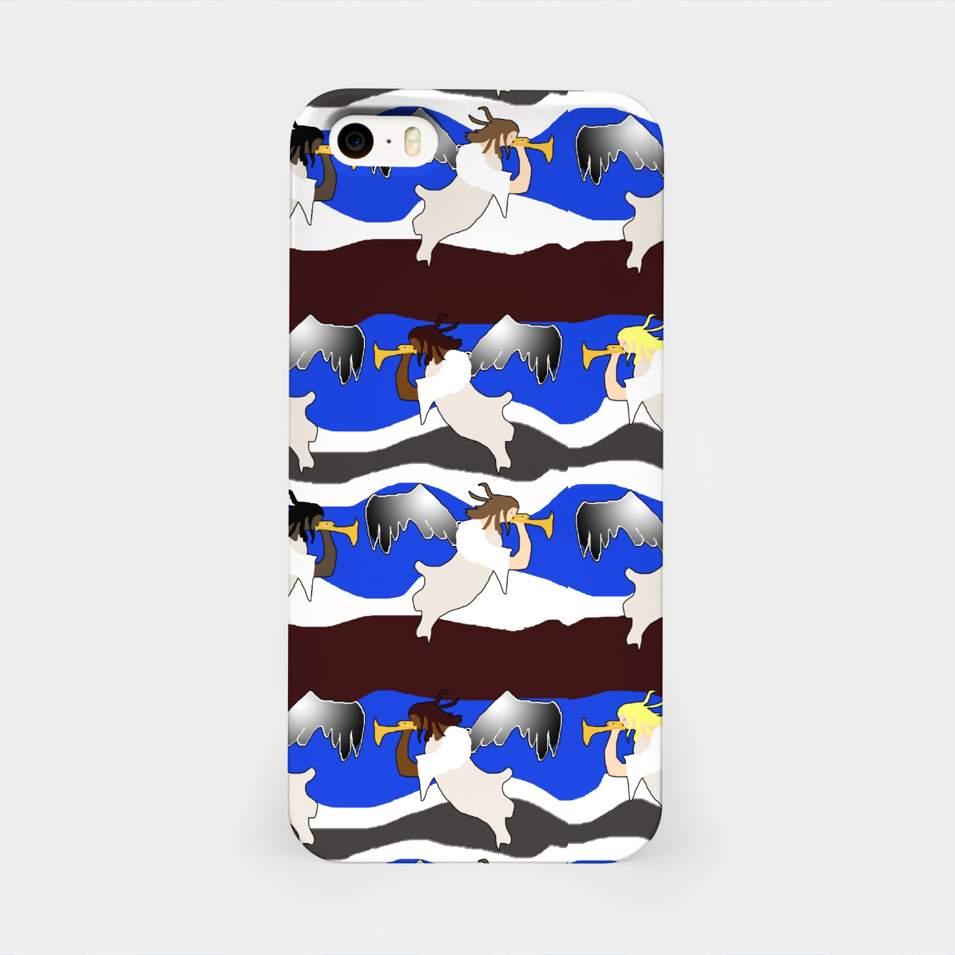 Image of Angels Pattern iPhone Case - Live Heroes