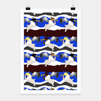 Thumbnail image of Angels Pattern Poster, Live Heroes