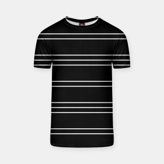 Thumbnail image of Simple Lines Pattern T-shirt, Live Heroes