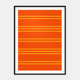 Thumbnail image of Simple Lines Pattern oy Framed poster, Live Heroes
