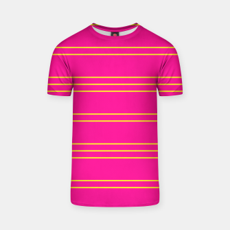 Thumbnail image of Simple Lines Pattern yp T-shirt, Live Heroes