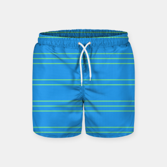 Thumbnail image of Simple Lines Pattern bt Swim Shorts, Live Heroes