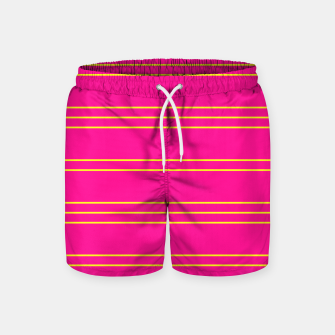 Thumbnail image of Simple Lines Pattern yp Swim Shorts, Live Heroes