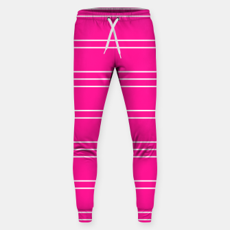 Thumbnail image of Simple Lines Pattern mag Sweatpants, Live Heroes