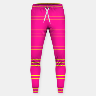 Thumbnail image of Simple Lines Pattern yp Sweatpants, Live Heroes