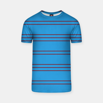 Thumbnail image of Simple Lines Pattern br T-shirt, Live Heroes