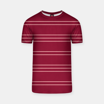 Thumbnail image of Simple Lines Pattern wr T-shirt, Live Heroes