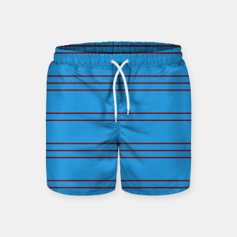 Thumbnail image of Simple Lines Pattern br Swim Shorts, Live Heroes