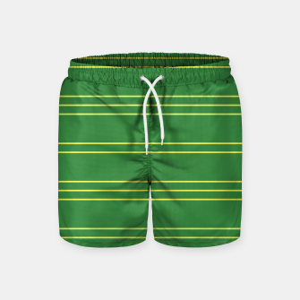 Thumbnail image of Simple Lines Pattern gy Swim Shorts, Live Heroes