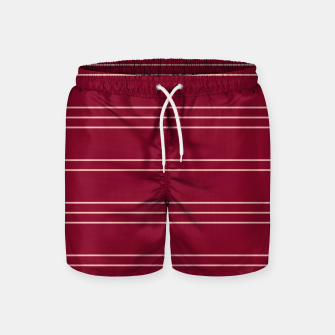 Thumbnail image of Simple Lines Pattern wr Swim Shorts, Live Heroes