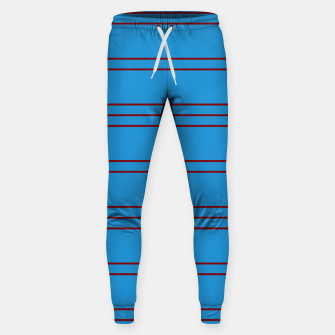 Thumbnail image of Simple Lines Pattern br Sweatpants, Live Heroes