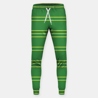 Thumbnail image of Simple Lines Pattern gy Sweatpants, Live Heroes