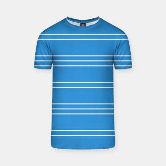 Thumbnail image of Simple Lines Pattern wb T-shirt, Live Heroes