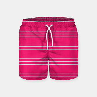 Thumbnail image of Simple Lines Pattern bp Swim Shorts, Live Heroes