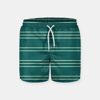 Thumbnail image of Simple Lines Pattern gr Swim Shorts, Live Heroes