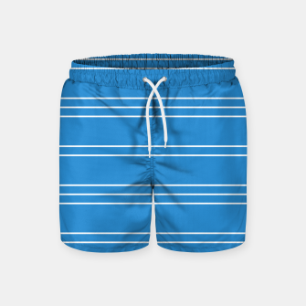 Thumbnail image of Simple Lines Pattern wb Swim Shorts, Live Heroes