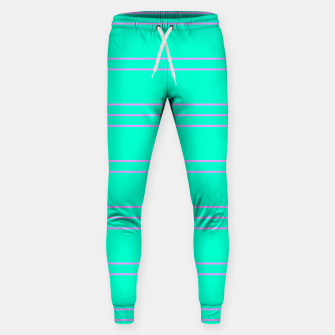 Thumbnail image of Simple Lines Pattern tp Sweatpants, Live Heroes