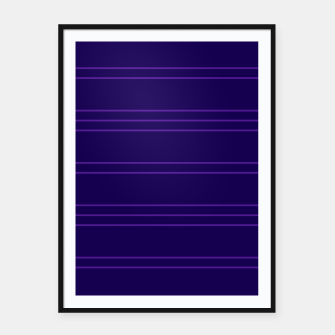 Thumbnail image of Simple Lines Pattern dpu Framed poster, Live Heroes