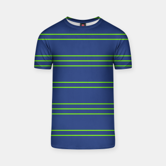 Thumbnail image of Simple Lines Pattern bg T-shirt, Live Heroes