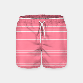 Thumbnail image of Simple Lines Pattern pw Swim Shorts, Live Heroes