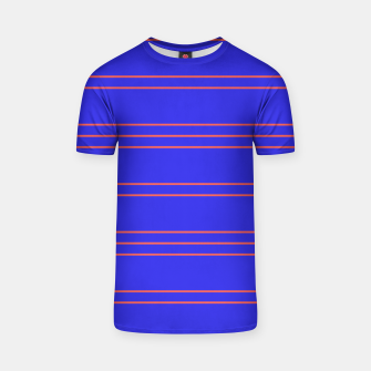 Thumbnail image of Simple Lines Pattern pr T-shirt, Live Heroes