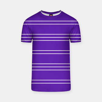 Thumbnail image of Simple Lines Pattern pu T-shirt, Live Heroes