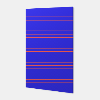 Thumbnail image of Simple Lines Pattern pr Canvas, Live Heroes