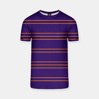Thumbnail image of Simple Lines Pattern po T-shirt, Live Heroes
