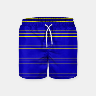 Miniatur Simple Lines Pattern by Swim Shorts, Live Heroes