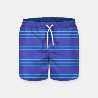 Thumbnail image of Simple Lines Pattern pt Swim Shorts, Live Heroes