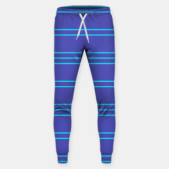 Thumbnail image of Simple Lines Pattern pt Sweatpants, Live Heroes