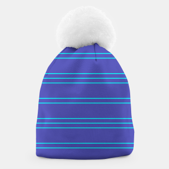Thumbnail image of Simple Lines Pattern pt Beanie, Live Heroes