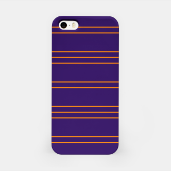 Miniatur Simple Lines Pattern po iPhone Case, Live Heroes