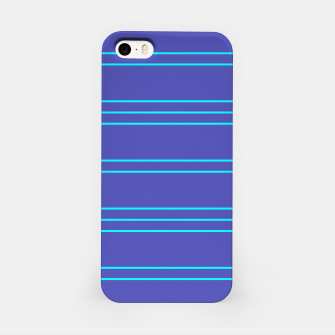 Miniatur Simple Lines Pattern pt iPhone Case, Live Heroes