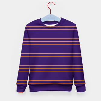 Miniatur Simple Lines Pattern po Kid's sweater, Live Heroes