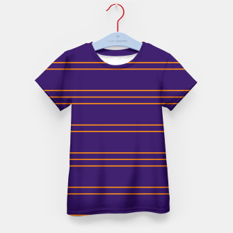 Miniatur Simple Lines Pattern po Kid's t-shirt, Live Heroes