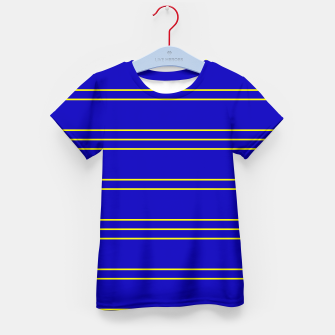 Miniatur Simple Lines Pattern by Kid's t-shirt, Live Heroes