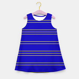 Miniaturka Simple Lines Pattern by Girl's summer dress, Live Heroes
