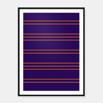 Miniaturka Simple Lines Pattern po Framed poster, Live Heroes