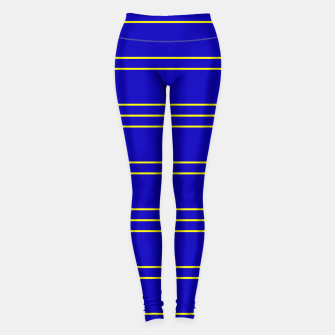 Miniatur Simple Lines Pattern by Leggings, Live Heroes
