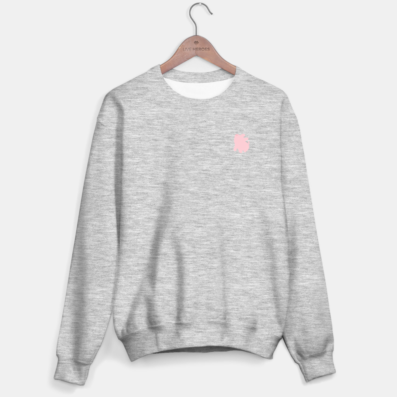 Image of Rosa the Pig Minimal Snobby Sweater regular - Live Heroes