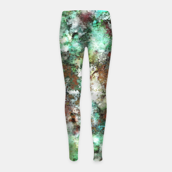 Thumbnail image of Harsh conditions Girl's leggings, Live Heroes