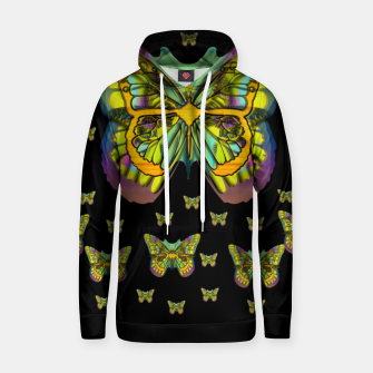 Miniatur butterflies with wings of freedom and love life Hoodie, Live Heroes