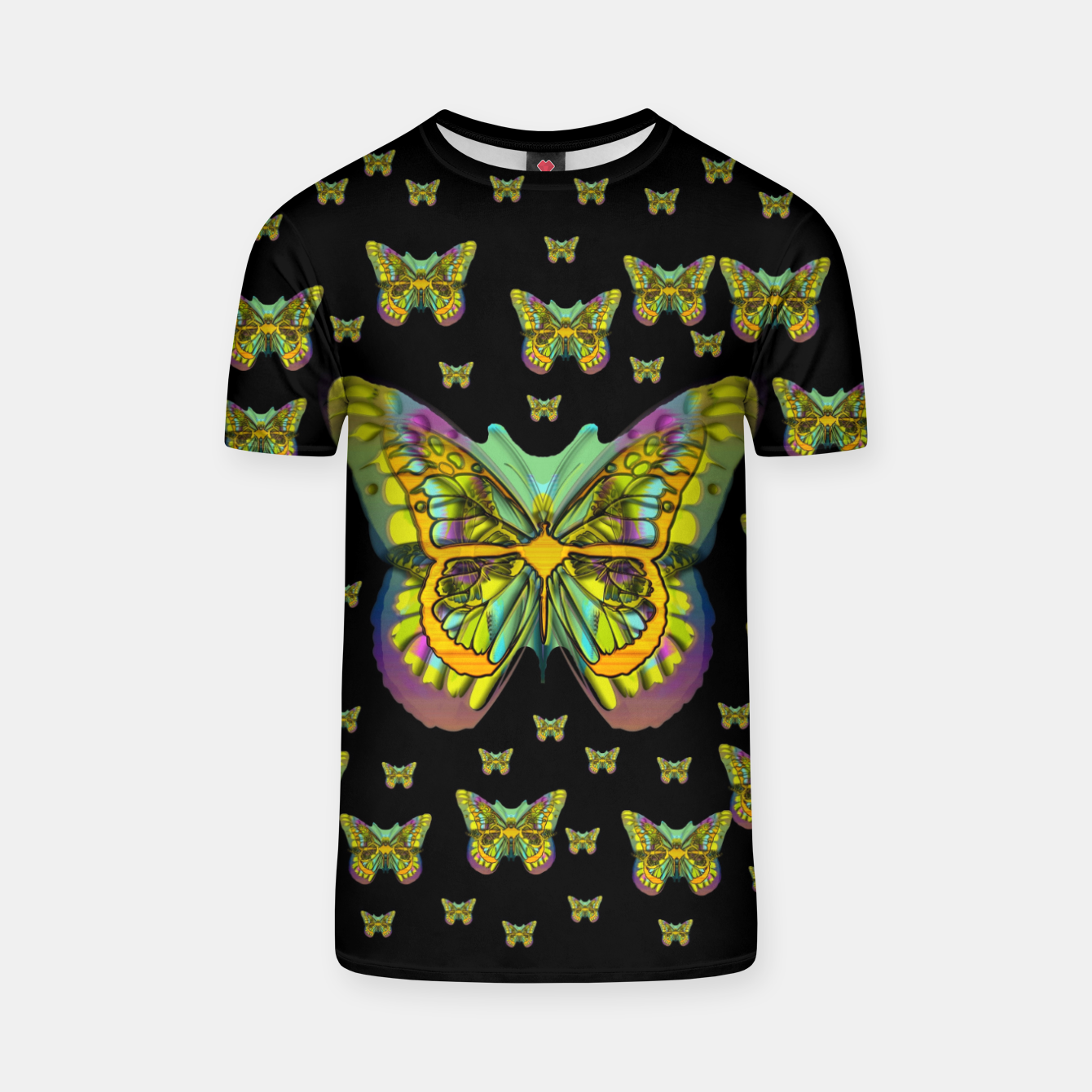 Foto butterflies with wings of freedom and love life T-shirt - Live Heroes